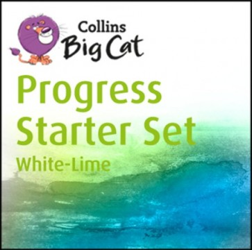 Collins Big Cat - Collins Big Cat Progress Starter Set: Band 10 White - Band 11 Lime
