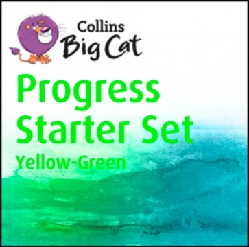 Collins Big Cat - Progress Starter Set Yellow - Green