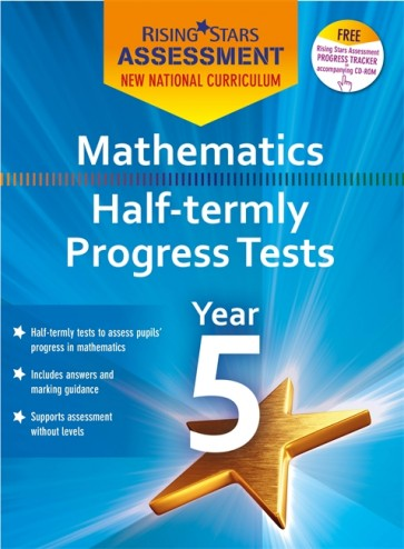 New Curriculum Rising Stars Assessment Mathematics Half-Termly Progress Tests KS2 Pack