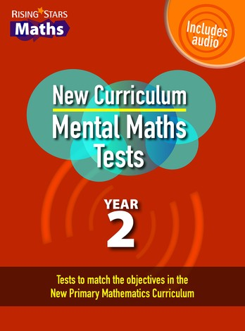 Rising Stars Mental Maths Tests Year 2 - New Curriculum edition