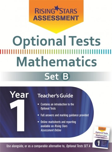 Optional Tests Mathematics Year 1 School Pack Set B