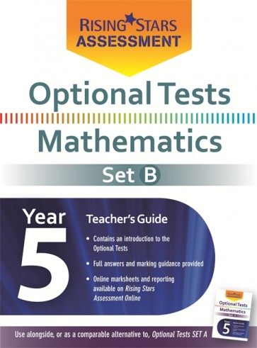 Optional Tests Mathematics Year 5 School Pack Set B