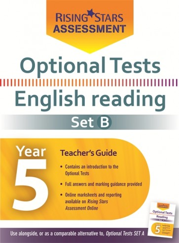 Optional Tests Reading Year 5 School Pack Set B