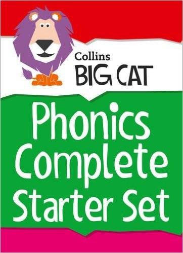 Collins Big Cat - Complete Phonics Starter Set: Band 01A Pink - Band 04 Blue - 72 Titles
