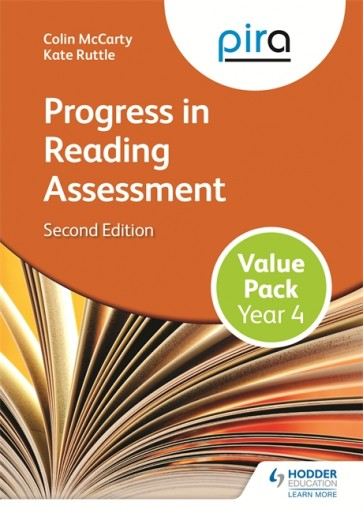 PiRA Year 4 Value Pack 2ED (Progress in Reading Assessment)