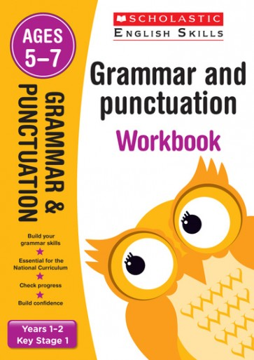Scholastic English Skills: Grammar and Punctuation Workbook (Years 1-2) x 30