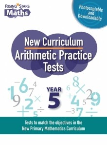 Rising Stars Arithmetic Practice Tests Year 5