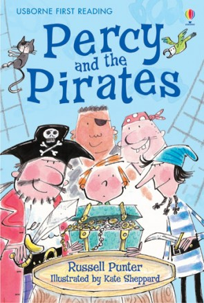 First Reading Level 4 - Percy and the pirates - guided reading pack