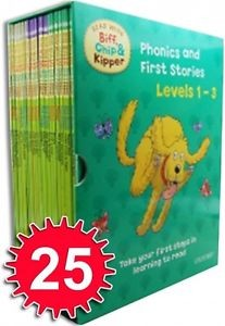 Read with Biff, Chip & Kipper (Levels 1-3) Collection