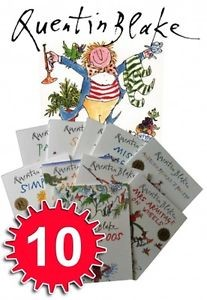 Quentin Blake Collection - 10 Books (Collection)