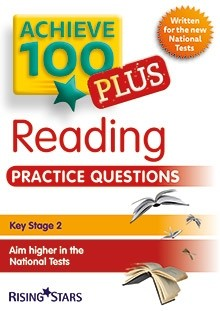 Achieve 100 Plus Reading Practice Questions Pack of 15 pupils Books