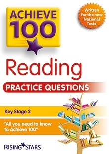 Achieve 100 Reading Practice Questions Pack of 15 Pupils Books