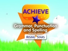 Achieve KS1 Interactive Teaching Lessons - Grammar, Punctuation and Spelling