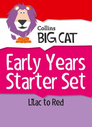 1A. Collins Big Cat Sets - Early Years Starter Set: Band 00 Lilac - Band 02B Red B - 110 titles