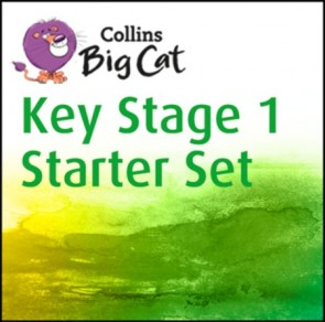 1B. Collins Big Cat Sets - Collins Big Cat Key Stage 1 Starter Set: Band 03 Yellow - Band 11 Lime - 177 titles