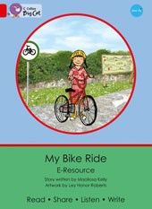 Collins Big Cat e-Resources - My Bike Ride Red 2A