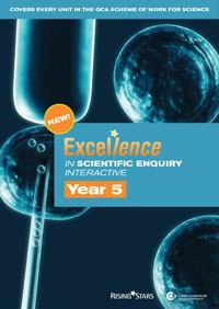 CD-ROM Excellence in Scientific Enquiry Interactive Year 5