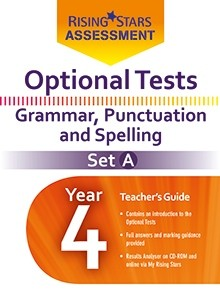 Optional Tests Grammar, Punctuation & Spelling Year 4 School Pack Set A