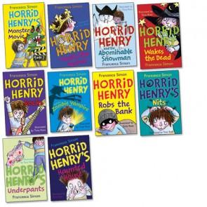 Horrid Henry Pack-10 Book Pack