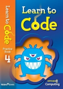15 copy pack of Learn to Code Practice Book 4