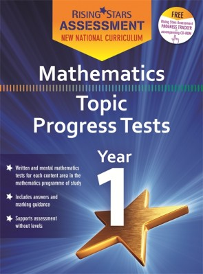 New Curriculum Rising Stars Assessment Mathematics Topic Progress Tests KS1 Pack