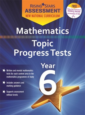 New Curriculum Rising Stars Assessment Mathematics Topic Progress Tests KS2 Pack