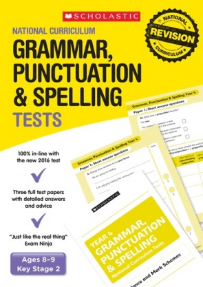 National Curriculum Tests: Grammar, Punctuation and Spelling Tests (Year 3) x 6