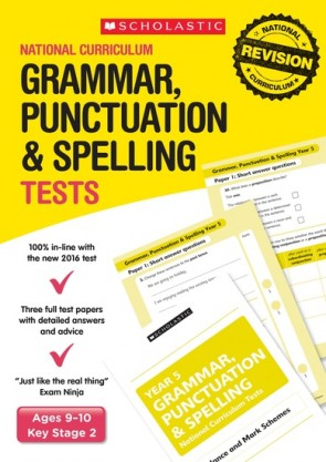 National Curriculum Tests: Grammar, Punctuation and Spelling Tests (Year 5) x 30