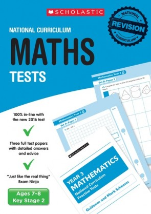 National Curriculum Tests: Maths Tests (Year 3) x 6