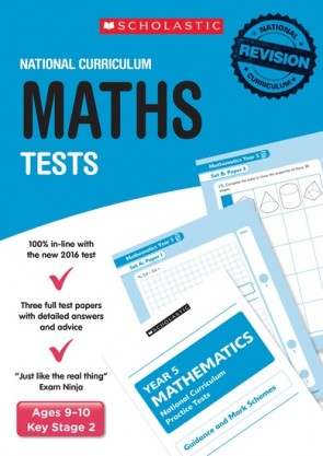 National Curriculum Tests: Maths Tests (Year 5) x 6
