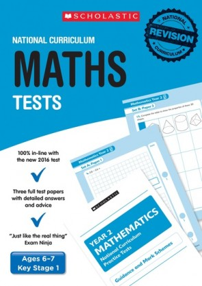 National Curriculum Tests: Maths Tests (Year 2) x 6