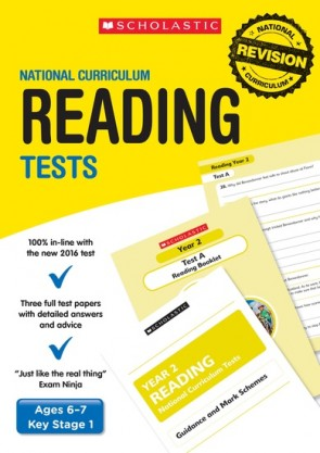 National Curriculum Tests: Reading Tests (Year 2) x 6