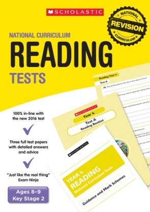 National Curriculum Tests: Reading Tests (Year 4) x 30
