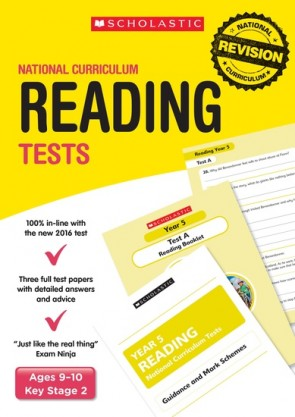 National Curriculum Tests: Reading Tests (Year 5) x 6