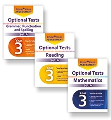 Optional Tests | Rising Stars Assessment | Optional Tests Year 3 Complete Pack Set A