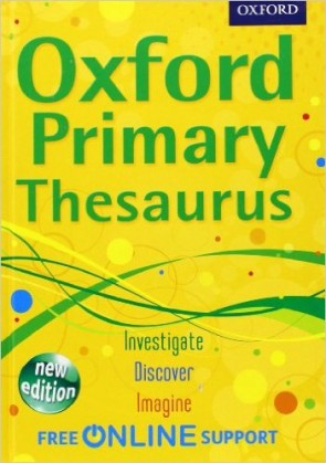 Oxford Primary Thesaurus Hard Back