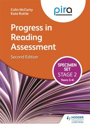 PiRA Stage Two (Tests 3-6) Specimen Set - 2ED (Progress in Reading Assessment)