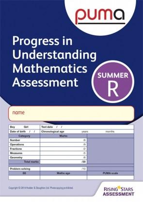 PUMA Test R, Summer PK10 (Progress in Understanding Mathematics Assessment)