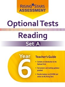 Optional Tests Reading Year 6 School Pack Set A