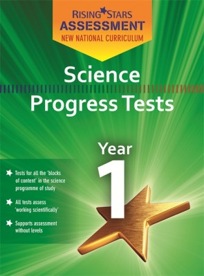 New Curriculum Rising Stars Assessment Science Progress Tests KS1 Pack