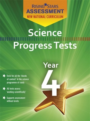 New Curriculum Assessment Science Year 4 Book Pack