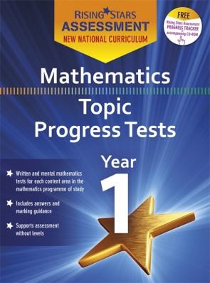 New Curriculum Rising Stars Assessment Mathematics Topic Progress Tests Year 1 Pack