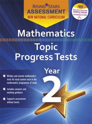 New Curriculum Rising Stars Assessment Mathematics Topic Progress Tests Year 2 Pack