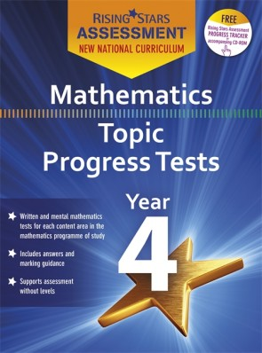 New Curriculum Rising Stars Assessment Mathematics Topic Progress Tests Year 4 Pack