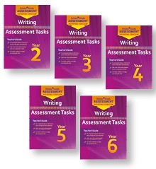 New Curriculum Rising Stars Writing Assessment Tasks Whole-school Pack
