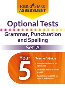 Optional Tests Grammar, Punctuation & Spelling Year 5 School Pack Set A
