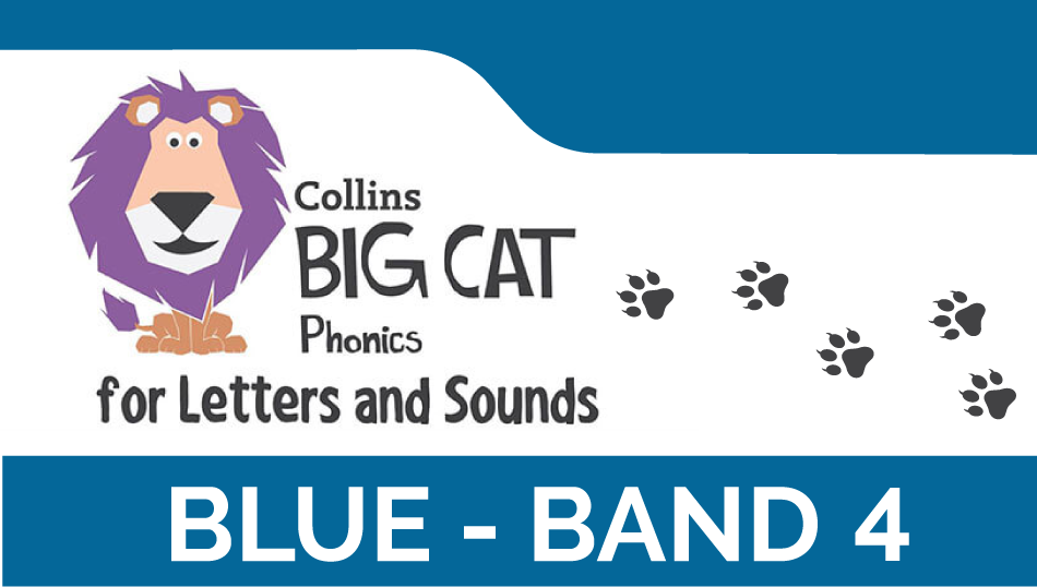 Blue - Band 4 | Collins Big Cat Phonics for Letters and Sounds