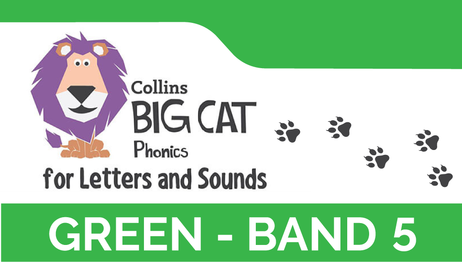 Green - Band 5 | Collins Big Cat Phonics for Letters and Sounds