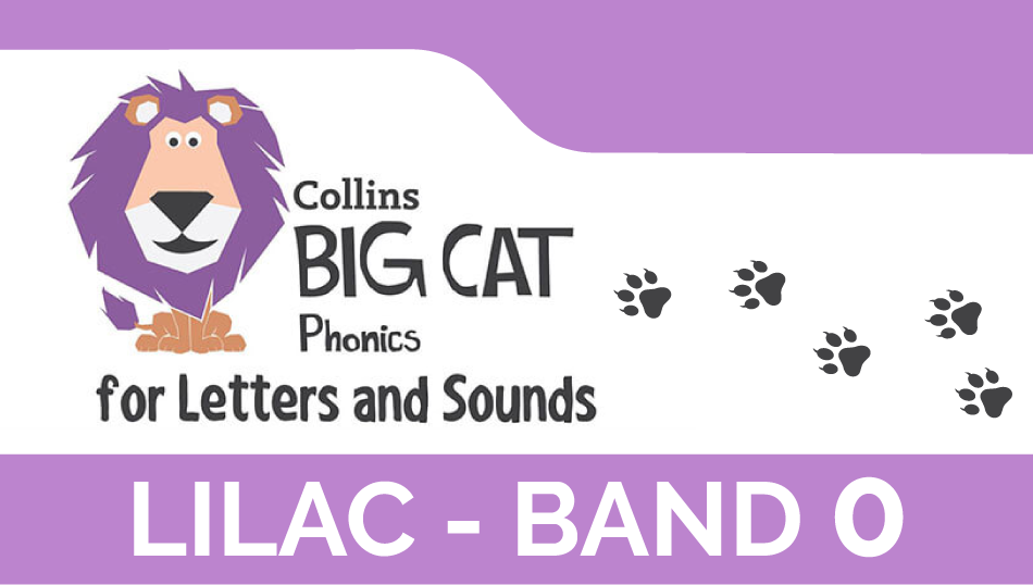 Lilac - Band 0 | Collins Big Cat Phonics for Letters and Sounds