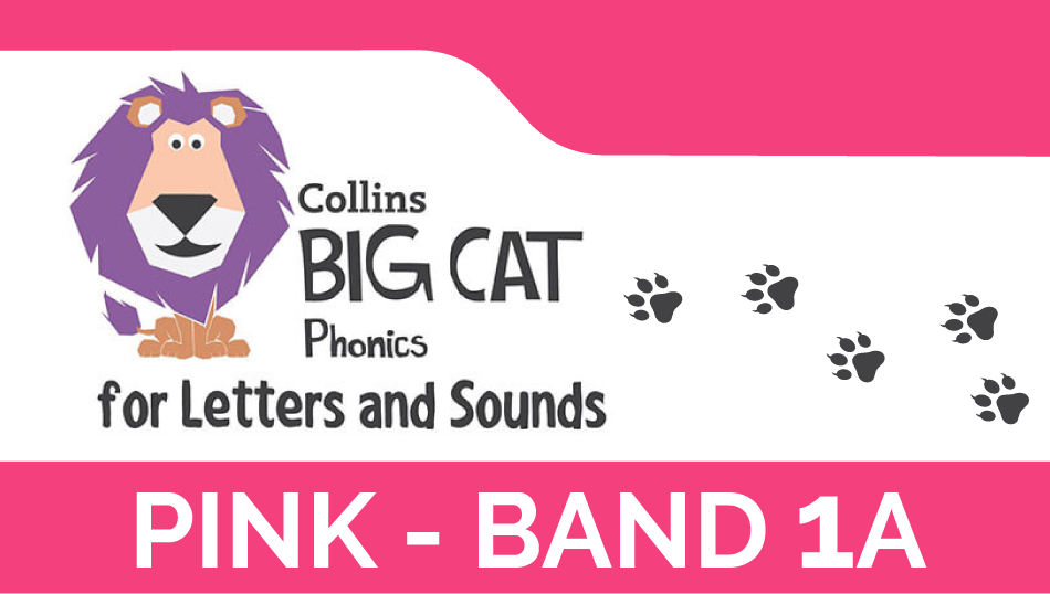 Pink - Band 1A | Collins Big Cat Phonics for Letters and Sounds